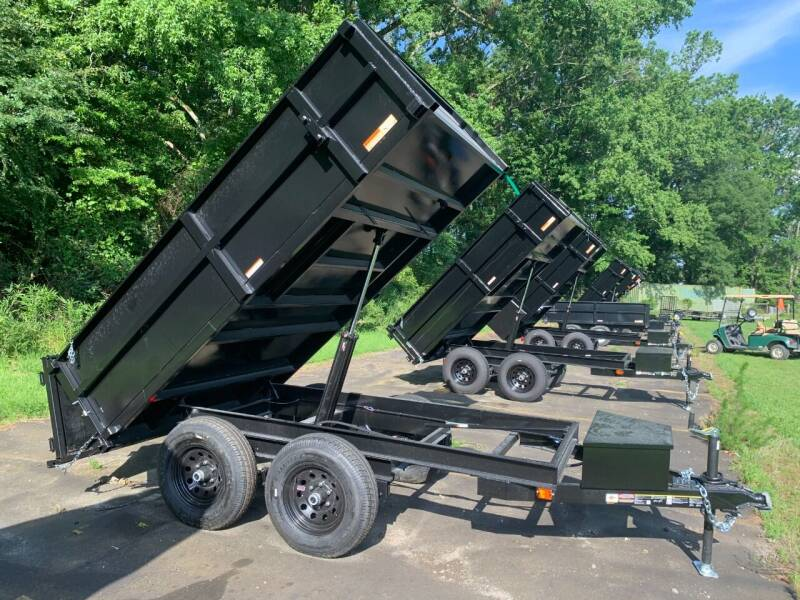 2021 New Carry-On Dump Trailer 6x10 DO HS 10K for sale at Tripp Auto & Cycle Sales Inc in Grimesland NC