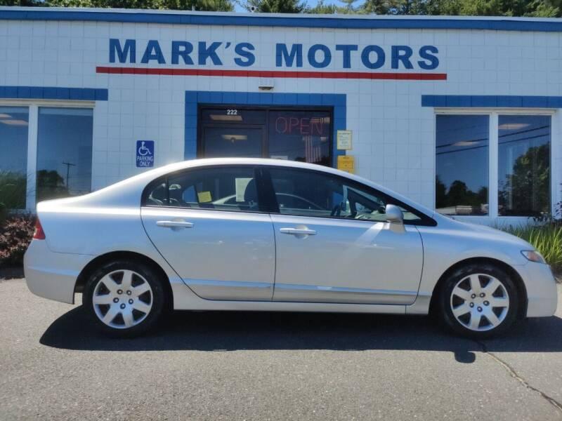 2010 Honda Civic for sale at Mark's Motors in Northampton MA