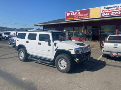 2006 HUMMER H2 for sale at Pro Motors in Roseburg OR