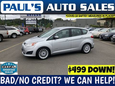 2013 Ford C-MAX Hybrid for sale at Paul's Auto Sales in Eugene OR