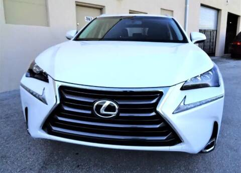 2017 Lexus NX 200t for sale at Selective Motor Cars in Miami FL