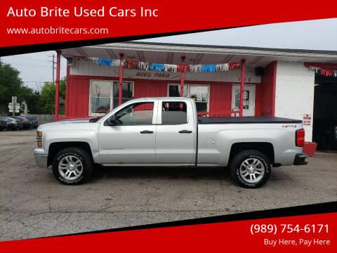 2014 Chevrolet Silverado 1500 for sale at Auto Brite Used Cars Inc in Saginaw MI