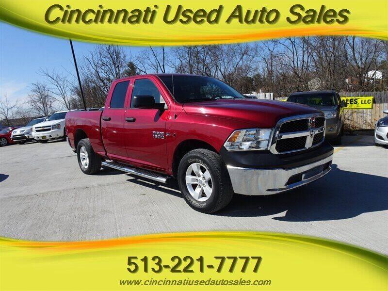 2015 RAM Ram Pickup 1500 for sale at Cincinnati Used Auto Sales in Cincinnati OH