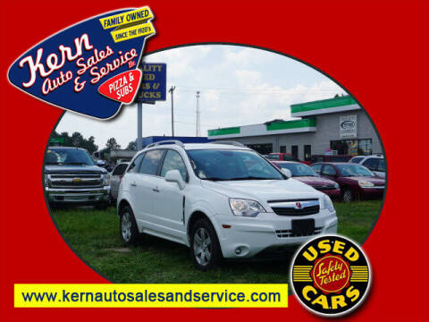 2008 Saturn Vue for sale at Kern Auto Sales & Service LLC in Chelsea MI