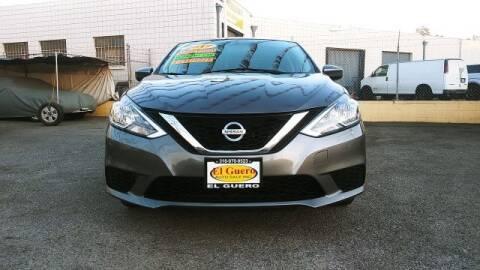 2017 Nissan Sentra for sale at El Guero Auto Sale in Hawthorne CA