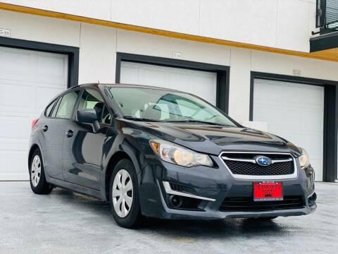2016 Subaru Impreza for sale at Avanesyan Motors in Orem UT