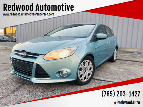 2012 Ford Focus for sale at Redwood Automotive in Anderson IN