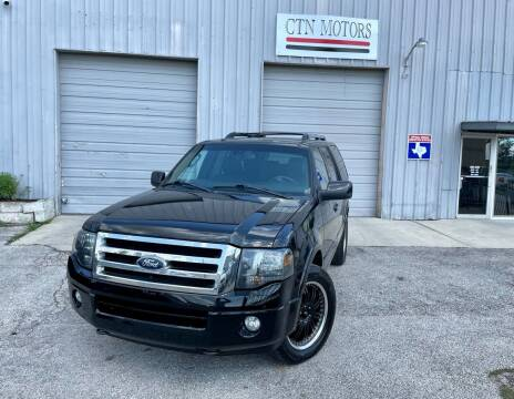 2012 Ford Expedition for sale at CTN MOTORS in Houston TX