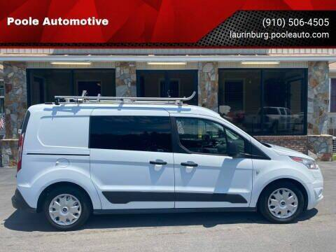 2016 Ford Transit Connect Cargo for sale at Poole Automotive in Laurinburg NC