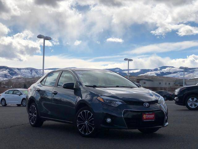 2016 Toyota Corolla for sale at Rocky Mountain Commercial Trucks in Casper WY