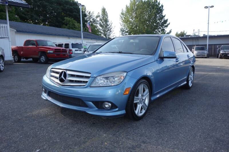 2010 Mercedes-Benz C-Class for sale at Leavitt Auto Sales and Used Car City in Everett WA