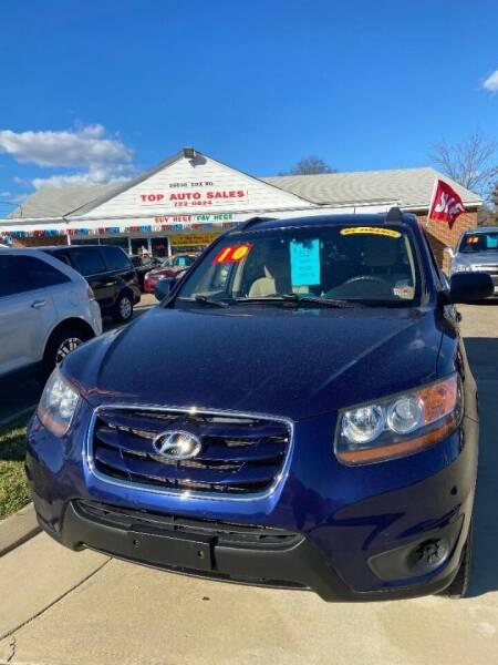 2010 Hyundai Santa Fe for sale at Top Auto Sales in Petersburg VA