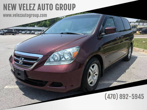 2007 Honda Odyssey for sale at NEW VELEZ AUTO GROUP in Gainesville GA