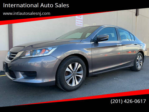 2013 Honda Accord for sale at International Auto Sales in Hasbrouck Heights NJ