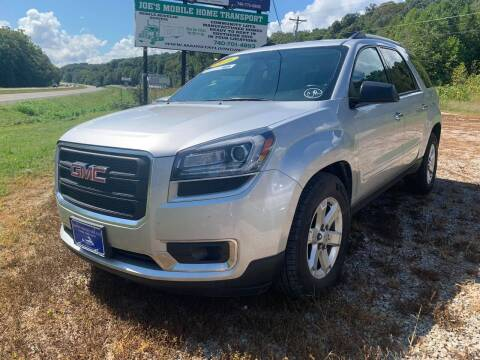2016 GMC Acadia for sale at Court House Cars, LLC in Chillicothe OH