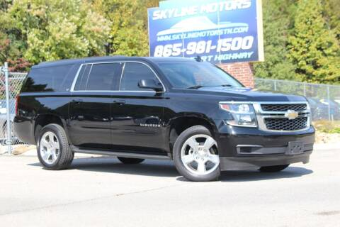 2016 Chevrolet Suburban for sale at Skyline Motors in Louisville TN