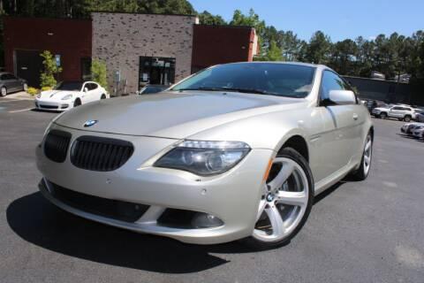 2008 BMW 6 Series for sale at Atlanta Unique Auto Sales in Norcross GA