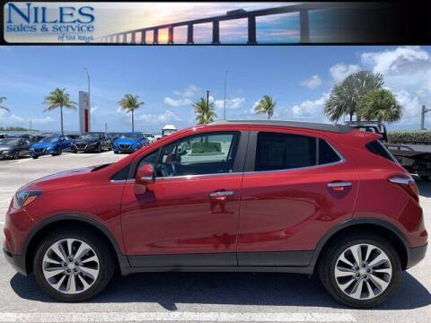 2017 Buick Encore for sale at Niles Sales and Service in Key West FL