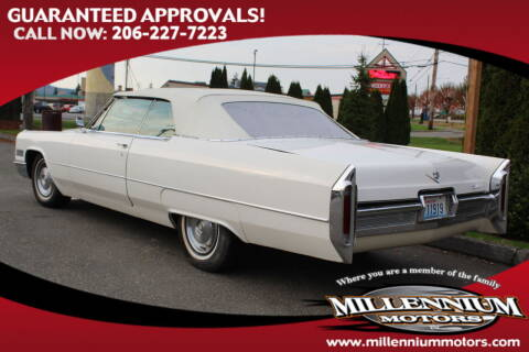 1966 Cadillac Deyille for sale at MILLENNIUM MOTORS INC in Monroe WA