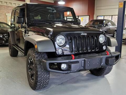 2015 Jeep Wrangler Unlimited for sale at AW Auto & Truck Wholesalers  Inc. in Hasbrouck Heights NJ