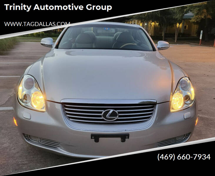 2002 Lexus SC 430 for sale at Trinity Automotive Group in Dallas TX
