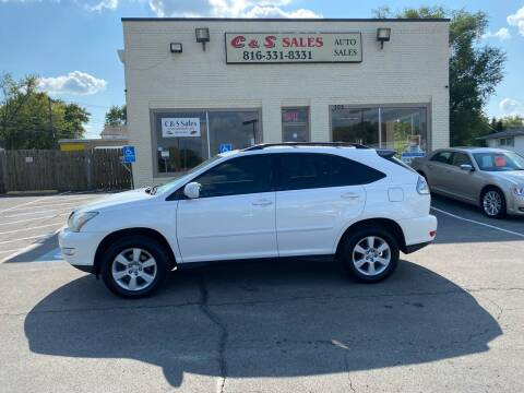2007 Lexus RX 350 for sale at C & S SALES in Belton MO