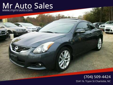 2012 Nissan Altima for sale at Mr Auto Sales in Charlotte NC