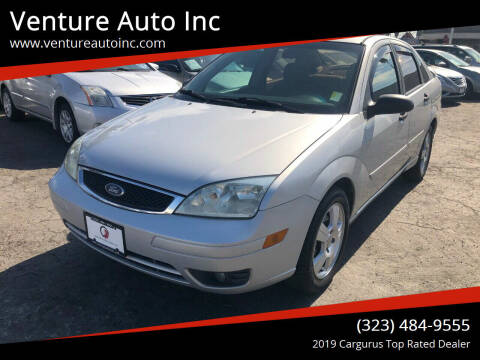 2007 Ford Focus for sale at Venture Auto Inc in South Gate CA