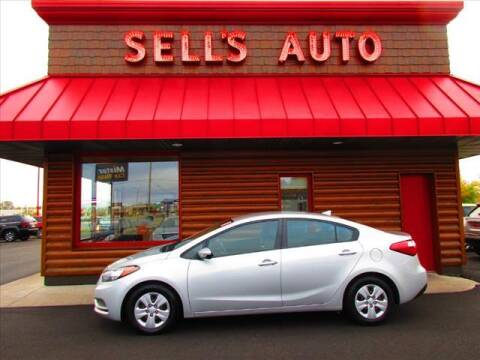 2016 Kia Forte for sale at Sells Auto INC in Saint Cloud MN