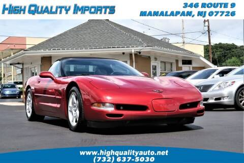 1998 Chevrolet Corvette for sale at High Quality Imports in Manalapan NJ