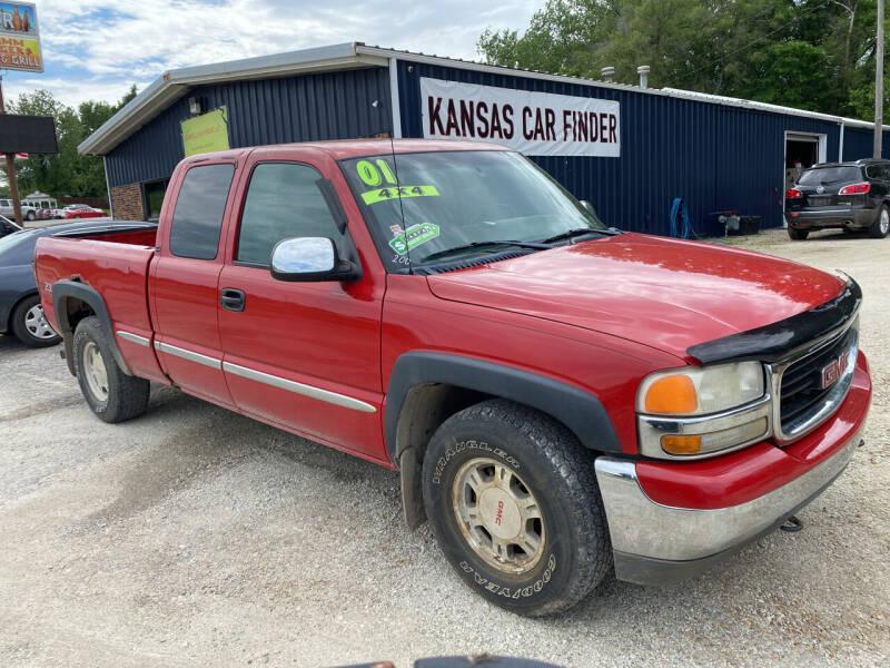 2001 GMC Sierra 1500 for sale at Kansas Car Finder in Valley Falls KS