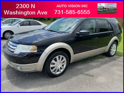 2008 Ford Taurus X for sale at Auto Vision Inc. in Brownsville TN