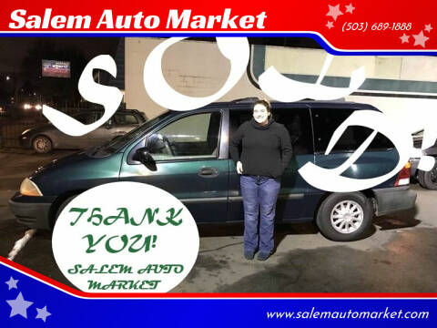 1999 Ford Windstar for sale at Salem Auto Market in Salem OR