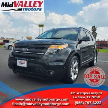 2014 Ford Explorer for sale at Mid Valley Motors in La Feria TX