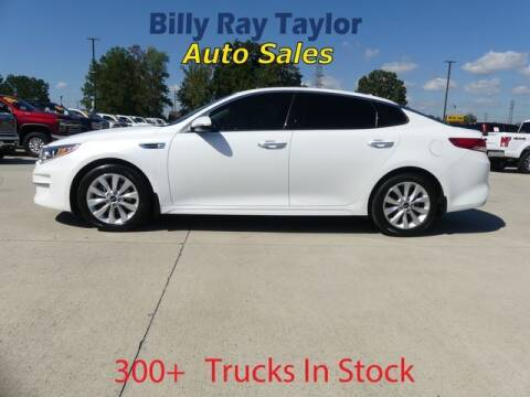 2016 Kia Optima for sale at Billy Ray Taylor Auto Sales in Cullman AL