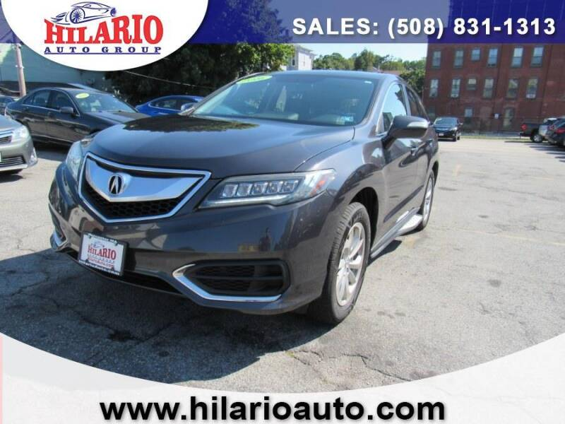 2016 Acura RDX for sale at Hilario's Auto Sales in Worcester MA