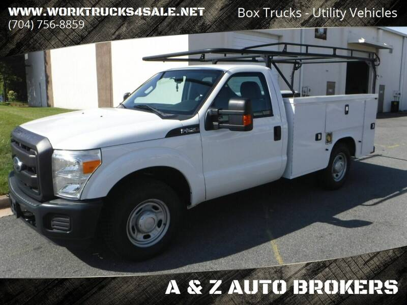 2014 Ford F-250 Super Duty for sale at A & Z AUTO BROKERS in Charlotte NC
