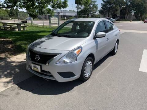 2018 Nissan Versa for sale at Auto Brokers in Sheridan CO