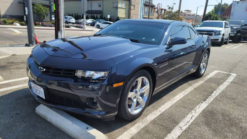 2014 Chevrolet Camaro for sale at L.A. Vice Motors in San Pedro CA