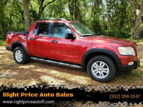 2007 Ford Explorer Sport Trac for sale at Right Price Auto Sales-Gainesville in Gainesville FL