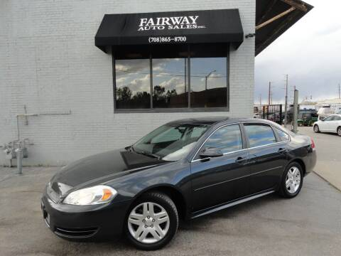 2013 Chevrolet Impala for sale at FAIRWAY AUTO SALES, INC. in Melrose Park IL