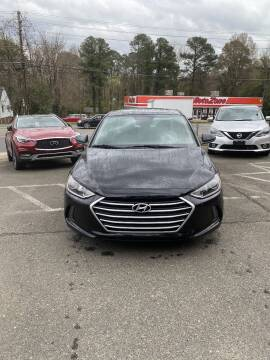 2017 Hyundai Elantra for sale at Assistive Automotive Center in Durham NC