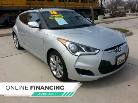 2016 Hyundai Veloster for sale at Super Cars Sales Inc #1 in Oakdale CA
