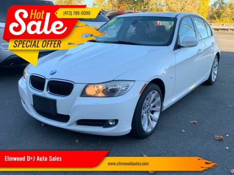 2011 BMW 3 Series for sale at Elmwood D+J Auto Sales in Agawam MA