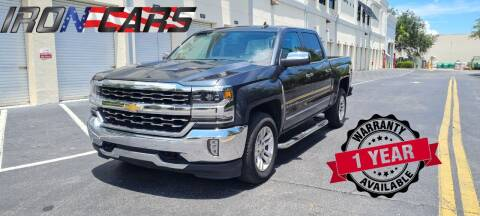 2018 Chevrolet Silverado 1500 for sale at IRON CARS in Hollywood FL