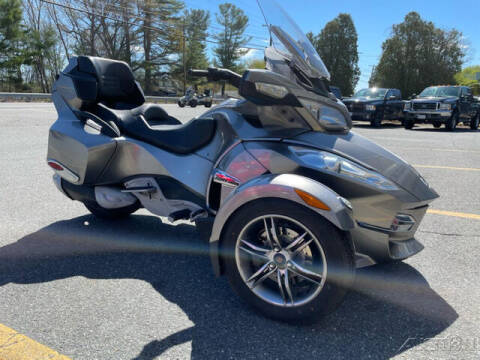 2012 Can-Am Spyder RTS - SE5 for sale at ROUTE 3A MOTORS INC in North Chelmsford MA