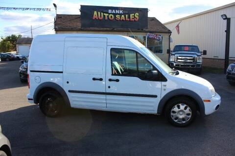 2013 Ford Transit Connect for sale at BANK AUTO SALES in Wayne MI