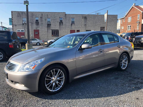 2008 Infiniti G35 for sale at Centre City Imports Inc in Reading PA