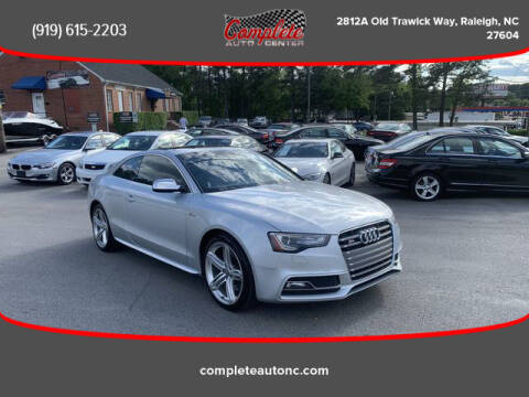 2013 Audi S5 for sale at Complete Auto Center , Inc in Raleigh NC
