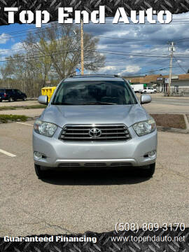 2008 Toyota Highlander for sale at Top End Auto in North Atteboro MA